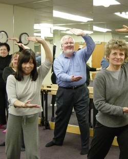 Do you need a special tai chi seniors form?